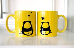 Love mugs! The more, the better! Colourful and fun, please
