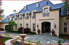 French Stone Exterior