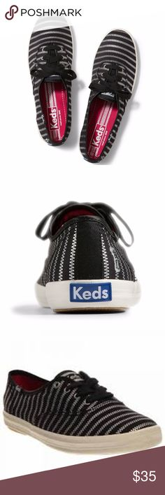 Keds Champion Zip Sneaker (zipper) Sizing: True to size. M = standard width.  - Round toe - Lace-up vamp - Allover print - Imported  Materials  Textile upper, man-made sole Keds Shoes Sneakers