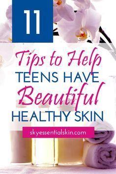Need help clearing up your skin? Teen skin is very delicate and some are prone to having acne. To help teens get rid of acne as well as have a good sk. Homemade Skin Care, Diy Skin Care, Facial Skin Care, Anti Aging Skin Care, Skin Care Tips, Skin Tips, Skin Care Routine For Teens, Best Skin Care Routine, Skin Care Regimen