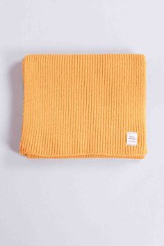 Scarf Rib Yellow