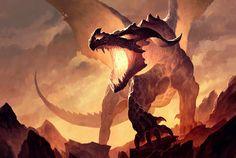 Fire dragon by Ariadna Żytniewska