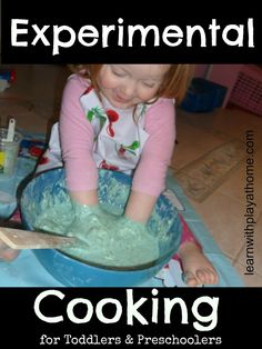 """Learn with Play at home: Experimental """"Cooking"""""""