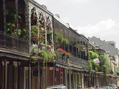 "new Orleans, When the hotel concierge says, ""just make sure you don't leave Bourbon Street.""  I now know why.  Great food and if your into the rest of that anything you want is there."