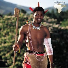 Swazi warrior with knobkerrie Royal Lineage, Fantasy Illustration, Reference Images, East Africa, African, Culture, People, Warriors, Monsters