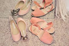 DVF pink and leopard flats, Avarcas pons sandals Cute, cute, cute