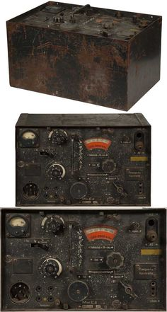 Reciever unit of an FuG 8 radio set