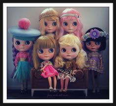 https://flic.kr/p/okhw8u | Little Darlings | As requested, an official TCT family photo. All my dolls have the last name Darling. It started with the twins Pip and Sailor who have long since moved to England. And so I present the Darlings.... Ginny, Cordelia, Agnes, Franny (formerly known as Jellybean), Minnie, and Keaton. All FBLs by Tinycutethings... This is my dolly heaven. It just doesn't get any better. I am so very lucky to have each and every one of them here for as long as the...