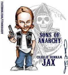 Jax Teller ♊️  (Artwork by Itoondaddy on FB)