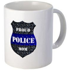 Proud Police Mom Mugs > Proud Police Mom > The Art Studio by Mark Moore