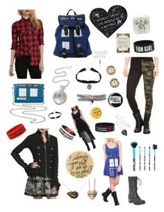"""""""Things I want from Hot Topic"""" by cora-mccutcheon ❤ liked on Polyvore featuring VERONA, Disney and Tripp"""