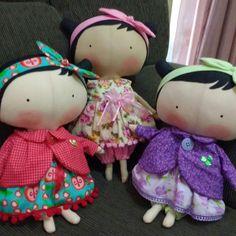 Tildas Toy  As meninas esperando para passear!!  #aceitoencomendas