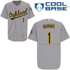 http://www.xjersey.com/athletics-1-burns-grey-cool-base-jerseys.html Only$43.00 ATHLETICS 1 BURNS GREY COOL BASE JERSEYS Free Shipping!