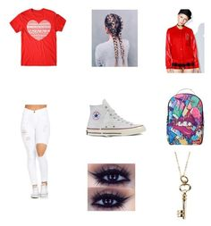 """Untitled #86"" by forever30-1 on Polyvore featuring Black Scale, Converse, Sprayground and Rachael Ryen"