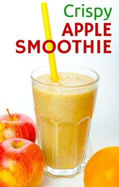 SKINNY Crispy Apple Smoothie - {Lose 2 Pounds Tonight!!!}