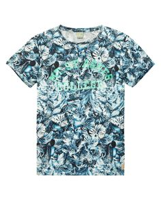 Allover printed tee | T-shirt s/s | Men Clothing at Scotch & Soda