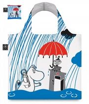 "Muumi eco bag ""Raining"", värikäs."
