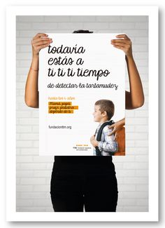 "Cartel difusión campaña 22-Octubre de 2015. ""Todavía estás a ti ti tiempo"""