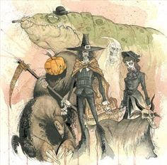 Gris Grimly is the author and illustrator of children's books
