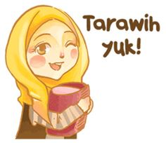 Annisa Hijab Girl : Ramadhan Edition by D-Day Hijab Anime, Ramadhan Quotes, Quotes Lucu, Girl Hijab, Hijab Outfit, Hijab Cartoon, Daily Inspiration Quotes, Girls Dp, Line Store
