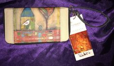SHERPANI Elements Collection Xovia Color My World Zip Around Wallet Wristlet NWT  | eBay