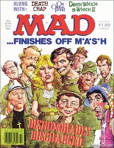 Mad Magazine. No. 234. Oct '82