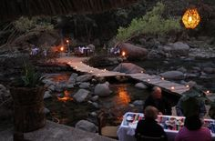 Cuale Paradise, restaurant on the river, Puerto Vallarta.
