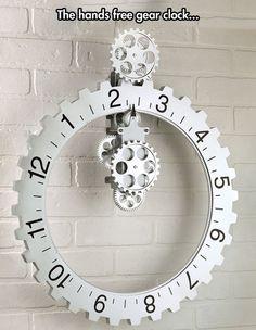Handless clock…