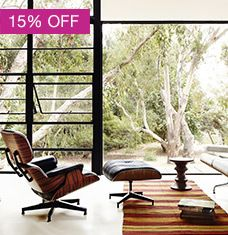 And now the moment we've all been waiting for: 15% OFF  Herman Miller starts now! Shop modern icons from the masters of the movement including Charles and Ray Eames, George Nelson, Isamu Noguchi, and many more. Had your eye on that special piece to complete your collection? Invest in timeless design your family and friends will cherish for generations to come. Our best-selling items are in stock and ready for 2-day shipping. For custom orders, don't hesitate to call our ...