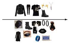 """""""Daughter of Zeus:Thalia Grace  normal/formal"""" by apollos-12-daughter on Polyvore featuring beauty, River Island, Miss Selfridge, Neil Barrett, Gorjana, Delicates by Paloma & Ellie, Dr. Martens, Bling Jewelry, Paule Ka and Butter London"""
