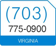 In Stock US Local Phone Number - 703 area code
