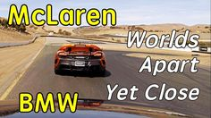 Watch A Plucky BMW 135i Give A McLaren 675LT Some Real Hassle On Track