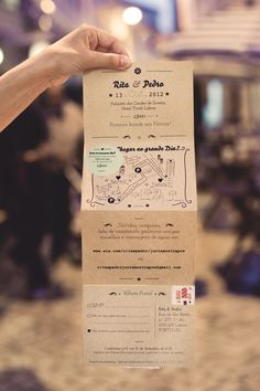 wedding invitation, by De Alma e Coração - design: Rita Oliveira, photo: Rodrigo…