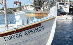 "tarpon springs fl | Tarpon Springs in BoatUS Magazine's ""Ten Great Boating Towns"" for ... Tarpon Springs, Boating, Surfboard, Diving, Greek, Florida, Ships, Scuba Diving, The Florida"