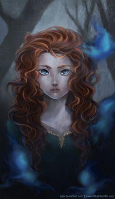 Brave- Merida and Willow-The-Wisps Merida Cosplay, Disney And Dreamworks, Disney Pixar, Walt Disney, Pocahontas Disney, Brave Disney, Merida Disney, Heros Disney, Disney Movies