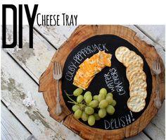 DIY chalkboard serving tray -via DIYconfessions.com