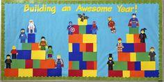 Mrs. O Knows: Lego Back to School Bulletin Board