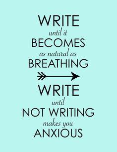 Inspirational Print Motivational Writing by WordsGloriousWords