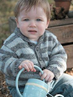Free knitting pattern - Liquorice Jacket by Marie Wallin in Rowan Classic Natural Silk Aran (Discontinued)