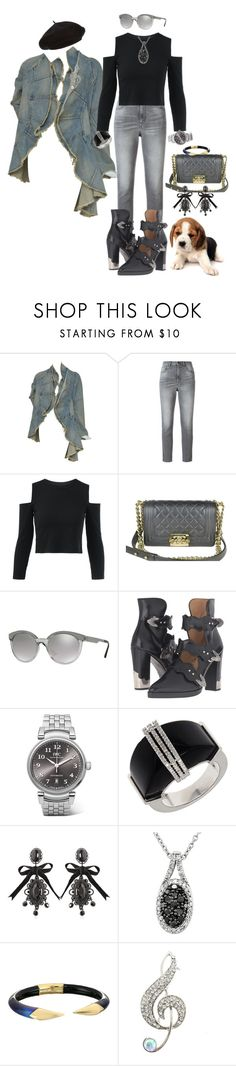 """""""Don't try so hard"""" by blujay1126 ❤ liked on Polyvore featuring Golden Goose, Chanel, Versace, Toga, IWC Schaffhausen, Lord & Taylor, Dsquared2, Alexis Bittar and Harrods"""
