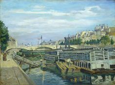 latest addition Jean-Baptiste-Armand Guillaumin The Bridge of Louis Philippe 1875 French Impressionist Painters, Impressionist Paintings, National Gallery Of Art, Art Gallery, Star Wars, Edouard Manet, Camille Pissarro, Edgar Degas, Post Impressionism