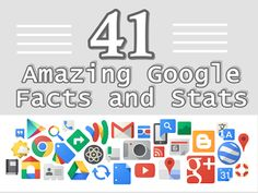 41 Amazing Google Facts and Stats [infographic] Internet Marketing Agency, Guerilla Marketing, Seo Marketing, Social Media Marketing, Digital Marketing, Google Facts, Best Seo, Marketing Techniques, Marketing Automation