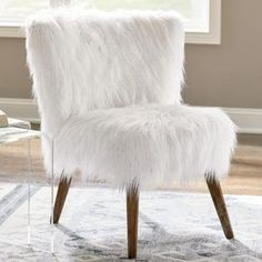 In the updated world of exceptional, room-changing furniture, the Boho glamor queen is probably our Gypsy Faux Fur Chair. This super-cute chair exudes romantically fluffy, edgy style, making it easy to make a statement. The snowy white faux fur has a Scandinavian design feel paired with modern wood frame and legs, a very cozy, welcoming look in fall and winter (and fresh and fun through spring and summer). We love it for a modern living room, a glam bedroom, and even at ...