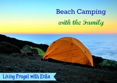 How to Plan a Beach Camping Trip with the Family