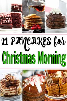 Pancake Recipes Looking for Christmas morning breakfast ideas? These easy pancake recipes are simple, outrageously delicious and don't require complicated cooking skills. Make and serve these yummy pancakes for a Christmas brunch or pancake bar! Christmas Morning Breakfast, Christmas Brunch, Christmas Baking, Christmas Christmas, Jamberry Christmas, Christmas Ideas, Christmas Recipes, Sweet Potato Pancakes, Pancakes Easy
