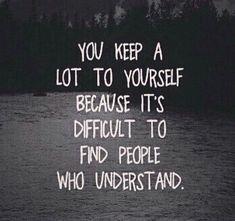 # True