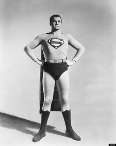 Superman from the 1950's the first television man of steel.
