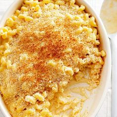 Ask anyone to name their favorite comfort food, and macaroni and cheese will likely top the list. A smooth and creamy sauce combined with Gouda, cheddar, Swiss, and Parmesan cheeses make this bubbly dish extra indulgent. Good Macaroni And Cheese Recipe, Macaroni Cheese, Mac Cheese, Cheese Food, Cheese Sauce, Cheddar Cheese, Paula Deen, Cheesy Recipes, Thanksgiving Side Dishes