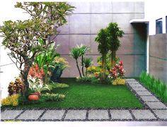 Trendy ideas for backyard patio garden landscape design front yards Small Garden Landscape, Modern Landscape Design, Small Backyard Gardens, Small Gardens, Small Patio, Small Terrace, Nature Landscape, Small Backyards, Modern Design