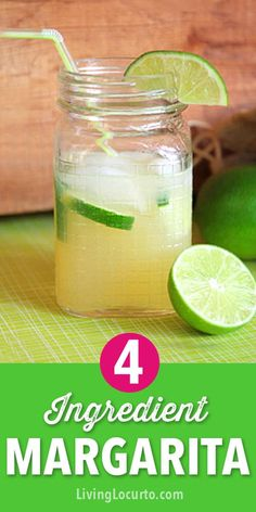 This easy Easy Beer Margarita Recipe will wow your guests! With only 4 ingredients, this tasty beerita served in mason jars makes your party extra festive and perfect for Cinco De Mayo! Easy Margarita Recipe, Margarita Mix, Margarita Recipes, Cocktail Recipes, Margarita Party, Cocktail Drinks, Easy Alcoholic Drinks, Yummy Drinks, Drinks Alcohol